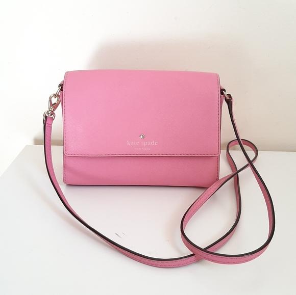 Kate Spade Buble Gum Pink Small Crossbody Bag